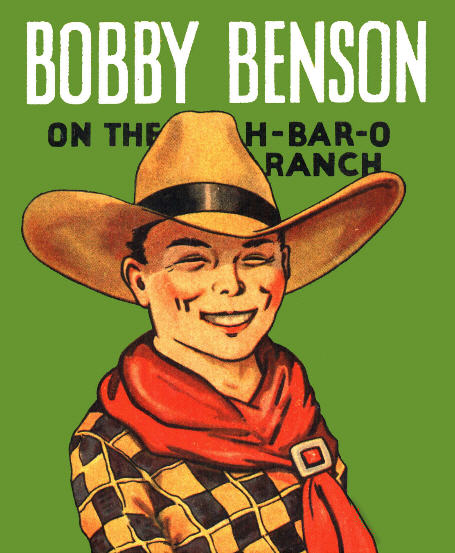 Illustration of Bobby Benson from the H-Bar-O Rangers